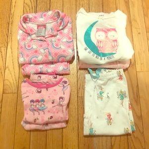 2T Girls Pajama Bundle